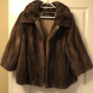 ♥️ Beautiful Vintage Mink Fur Coat Stroller
